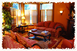 Living room of our Helena, MT vacation rental